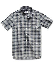The North Face Men's Monanock Regular-Fit FlashDry™ Plaid Shirt