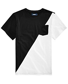 Univibe Big Boys Willian Pocket T-Shirt
