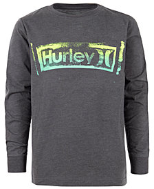 Hurley Big Boys One and Only Graphic Cotton T-Shirt