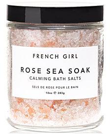 French Girl Rose Sea Soak Calming Bath Salts, 10-oz.
