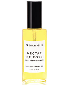 French Girl Nectar de Rose Cleansing Oil, 2-oz.