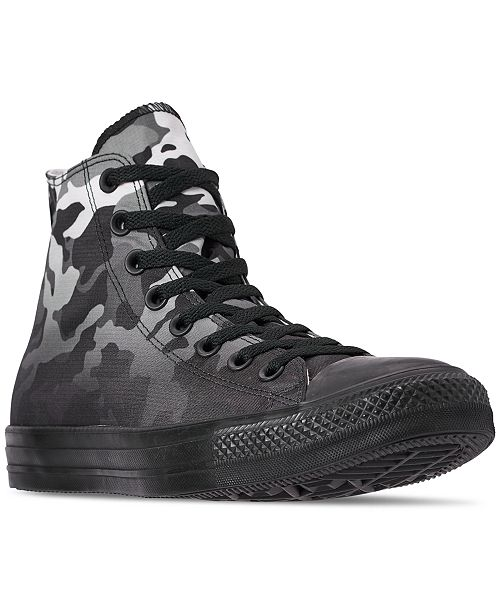 29211681b5d3 ... Converse Men s Chuck Taylor All Star Gradient Camo High Top Casual  Sneakers from Finish ...