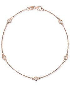 Diamond Bezel Link Bracelet (1/3 ct. t.w.)