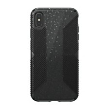 Speck iPhone XS Max Presidio Grip + Glitter Case