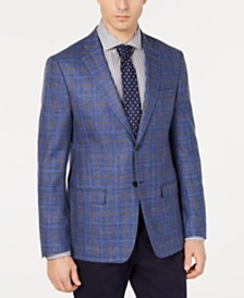 Lauren Ralph Men's UltraFlex Classic-Fit Windowpane Sport Coat