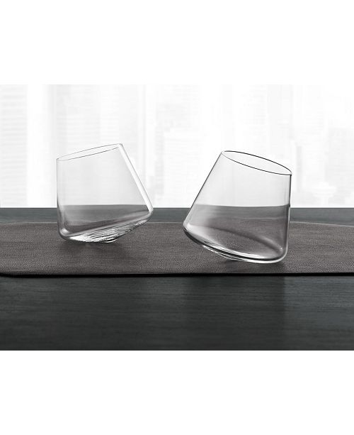 1caa1900ea8d2 Hotel Collection CLOSEOUT! Set of 2 Tilted Glasses