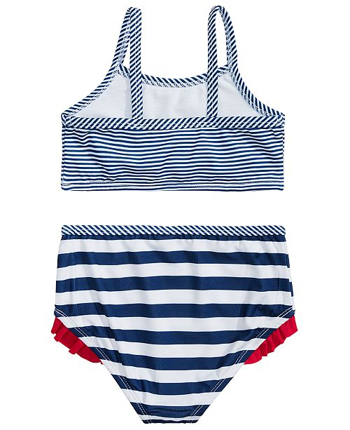 d1c5a676b135f Penelope Mack Toddler Girls 2-Pc. Striped Cherries Swimsuit ...