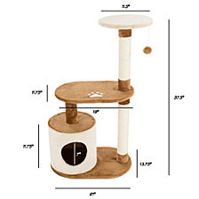 Cat Tree Condo 3 Tier By Petmaker