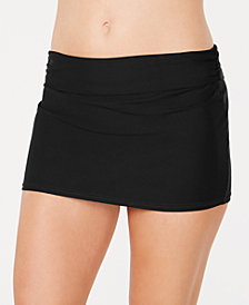 DKNY Solid Swim Skirt, Created For Macy's