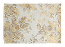 "Waterford Marcelle Placemat Ivory 13"" X 19"""