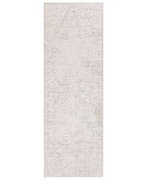 """Surya Aisha AIS-2309 Medium Gray 2'7"""" x 7'7"""" Runner Area Rug"""