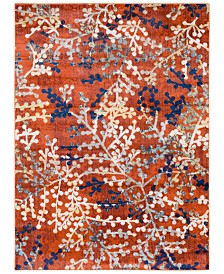"Surya Ararat ARA-2308 Bright Orange 7'10"" x 10'3"" Area Rug"