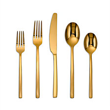Cambridge Beacon Gold Mirror 20-Piece Flatware Set
