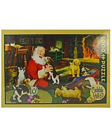Santa's Playtime Puzzle- 1000 Piece
