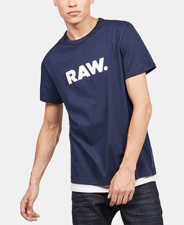 G-Star Raw Men's Holorn RAW Logo T-Shirt