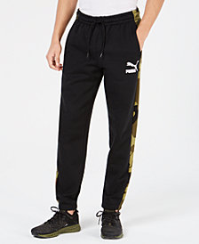 Puma Men's Camo-Stripe Pants