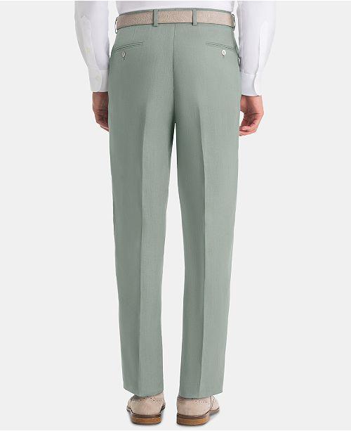 hot sales marketable buy online Men's UltraFlex Classic-Fit Sage Linen Pants