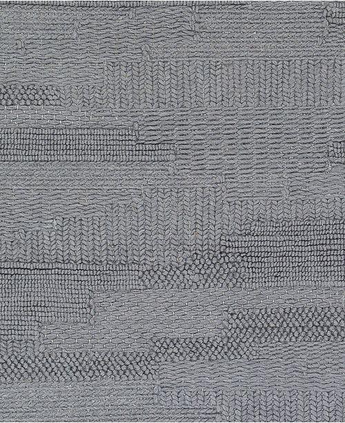 "Surya Cocoon CCN-1001 Denim 18"" Square Swatch"