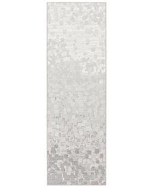 """Surya Contempo CPO-3843 Light Gray 2'7"""" x 7'10"""" Runner Area Rug"""