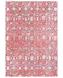 "Surya Herati HER-2318  Red 3'11"" x 5'11"" Area Rug"