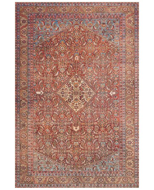 "Loloi Loren LQ-06 Red/Multi 5' x 7'6"" Area Rug"