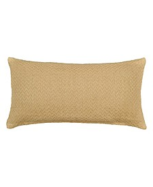 Home Jute Chevron Throw Pillow