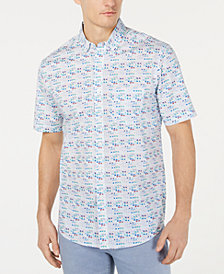 Club Room Men's Sunglasses Graphic Shirt, Created for Macy's