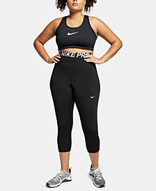 Plus Size Pro Cropped Leggings