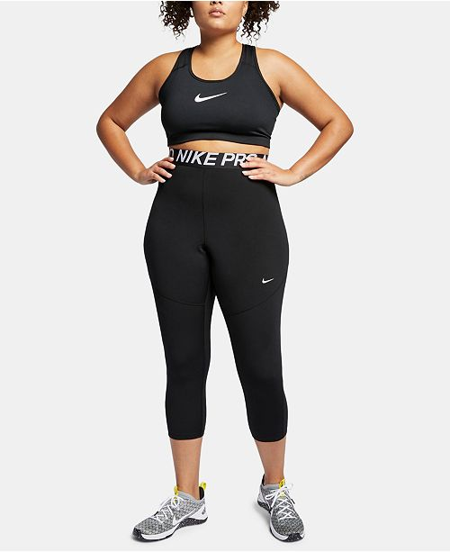e444fc81a89f7 Nike Plus Size Pro Cropped Leggings & Reviews - Pants & Capris ...