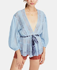 Free People Cotton Favorite Romance Tunic