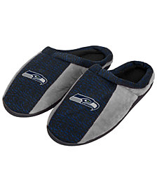 Forever Collectibles Seattle Seahawks Knit Cup Sole Slippers