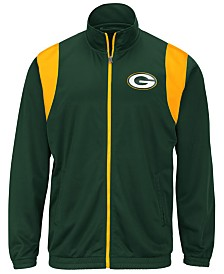 G-III Sports Men's Green Bay Packers Clutch Time Track Jacket