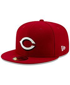 New Era Cincinnati Reds Metal & Thread 59FIFTY-FITTED Cap
