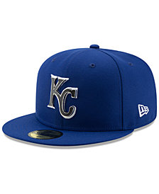 New Era Kansas City Royals Metal & Thread 59FIFTY-FITTED Cap