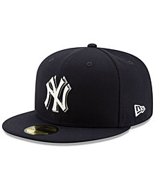 New Era New York Yankees Metal & Thread 59FIFTY-FITTED Cap