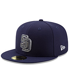 New Era San Diego Padres Metal & Thread 59FIFTY-FITTED Cap