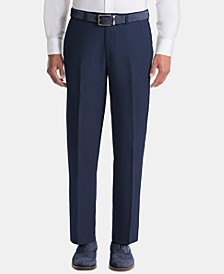 Men's UltraFlex Classic-Fit Navy Linen Pants