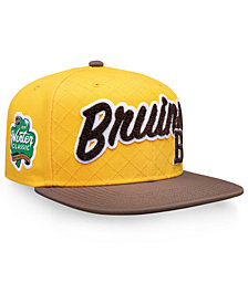 Authentic NHL Headwear Boston Bruins Winter Classic Snapback Cap