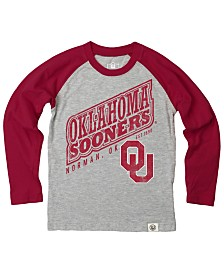 Wes & Willy Oklahoma Sooners Heather Raglan T-shirt, Infants (12-24 Months)