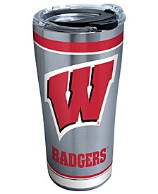 Wisconsin Badgers 20oz Tradition Stainless Steel Tumbler