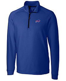 Cutter & Buck Men's Buffalo Bills Jackson Half-Zip Pullover