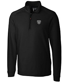 Cutter & Buck Men's Oakland Raiders Jackson Half-Zip Pullover