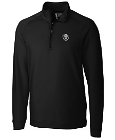 Cutter & Buck Men's Oakl& Raiders Jackson Half-Zip Pullover