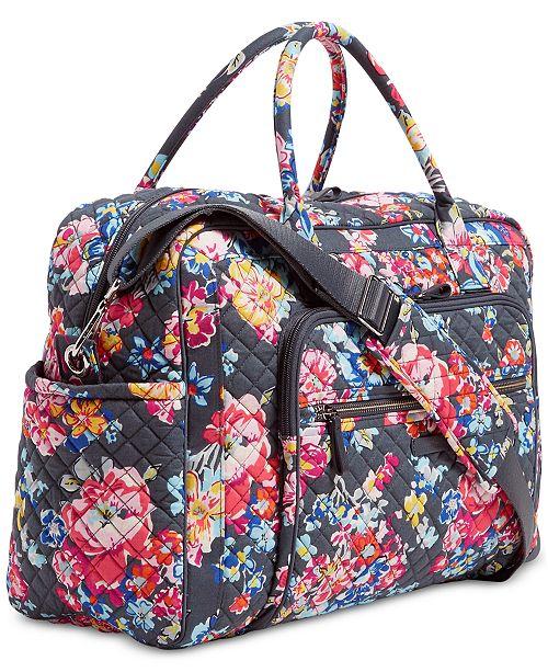 6349dac84fd1 Vera Bradley Iconic Weekender Travel Bag   Reviews - Handbags ...