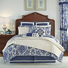 CLOSEOUT! Leland 4-Piece Cal King Comforter Set