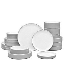 Noritake Colortex Stone 20-Pc  Dinnerware Set, Created for Macy's