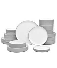 Noritake Colortex Stone 20-Pc  Dinnerware Set, Created for Macy's