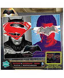Batman V Superman Glow-in-the-Dark Jigsaw Puzzle- 1000 Piece