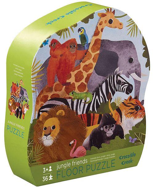Crocodile Creek Jungle Friends Floor Puzzle- 36 Piece