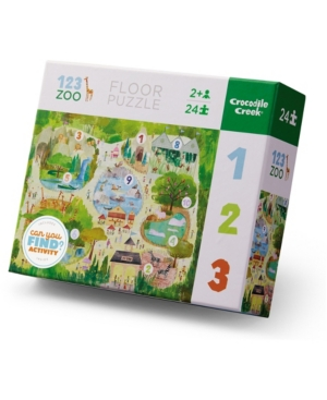 Early Learning - 123 Zoo Floor Jigsaw Puzzle- 24 Piece